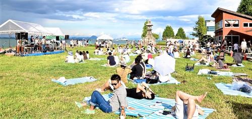 滋賀県大津市の琵琶湖畔を舞台に行う無料の野外音楽フェス『NAGISA MUSIC LIFE2018』