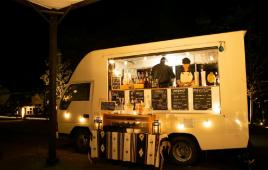 キャンプ最盛期!シェフの味が楽しめる『キッチンカー』がグランドーム京都天橋立に出動!