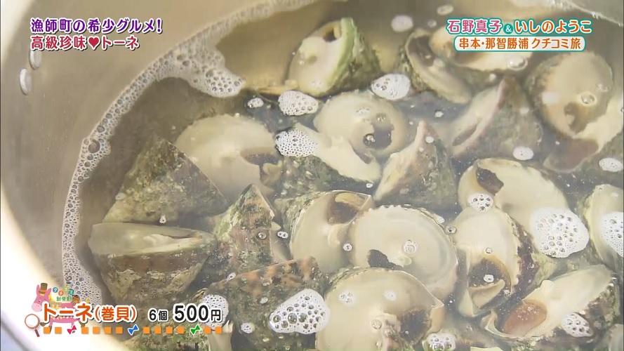 希少な巻貝が堪能できる『道の駅くしもと橋杭岩』(串本町)