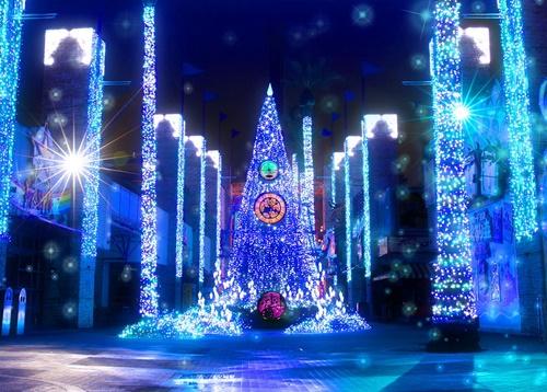 『光の遊園地~Night Travel Fantasy~』(大阪府枚方市)