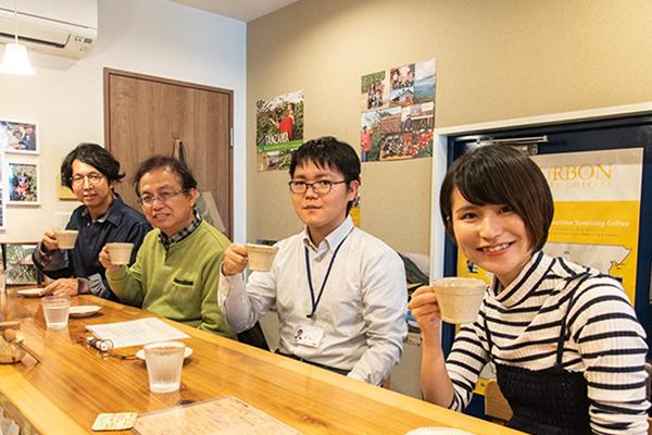 コーヒー座談会