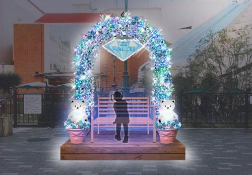 尼崎・つかしんのイルミネーションは11月3日から!高さ4mの『しろくまちゃん』が登場