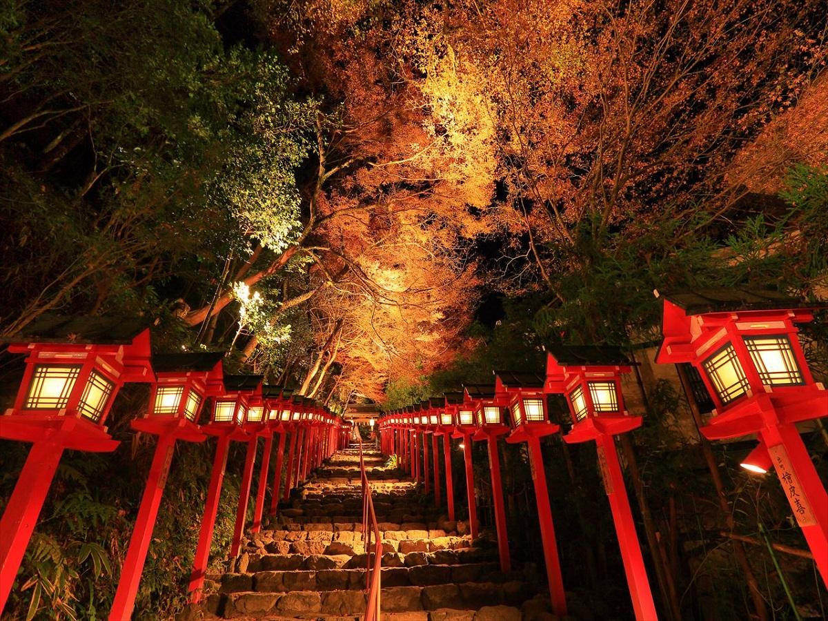 『叡山電鉄・貴船神社』(京都府・貴船神社)