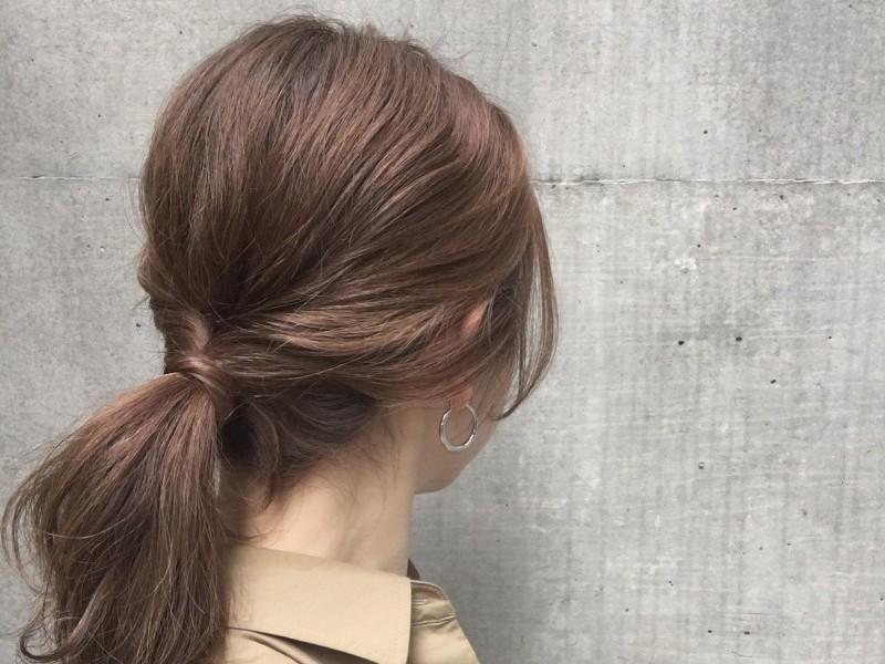 ショートヘア アレンジ 簡単