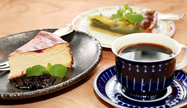 九十九別邸 豆の湯 ケーキセット