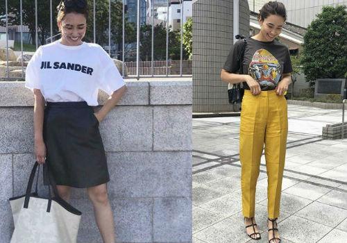秋のTシャツは、これを選んだら正解!おしゃれさんのTシャツコーデ3選